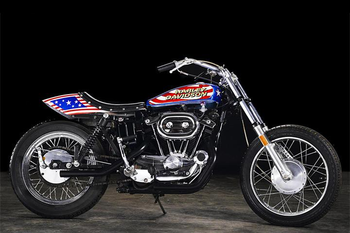 Evel Knievel S Harley Davidson Xl1000 Up For Auction: Evel Knievel Motorcycle Heading To Auction—Just Don't Jump It