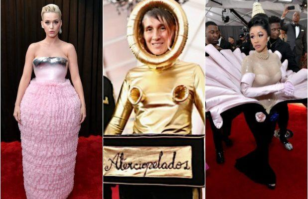 From Katy Perry to Cardi B, the Grammys Most Outlandish Looks, Ranked (Photos)