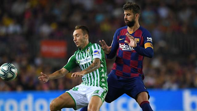Real Betis coach Rubi has confirmed Barcelona asked for Loren Moron as they seek to replace the injured Ousmane Dembele.