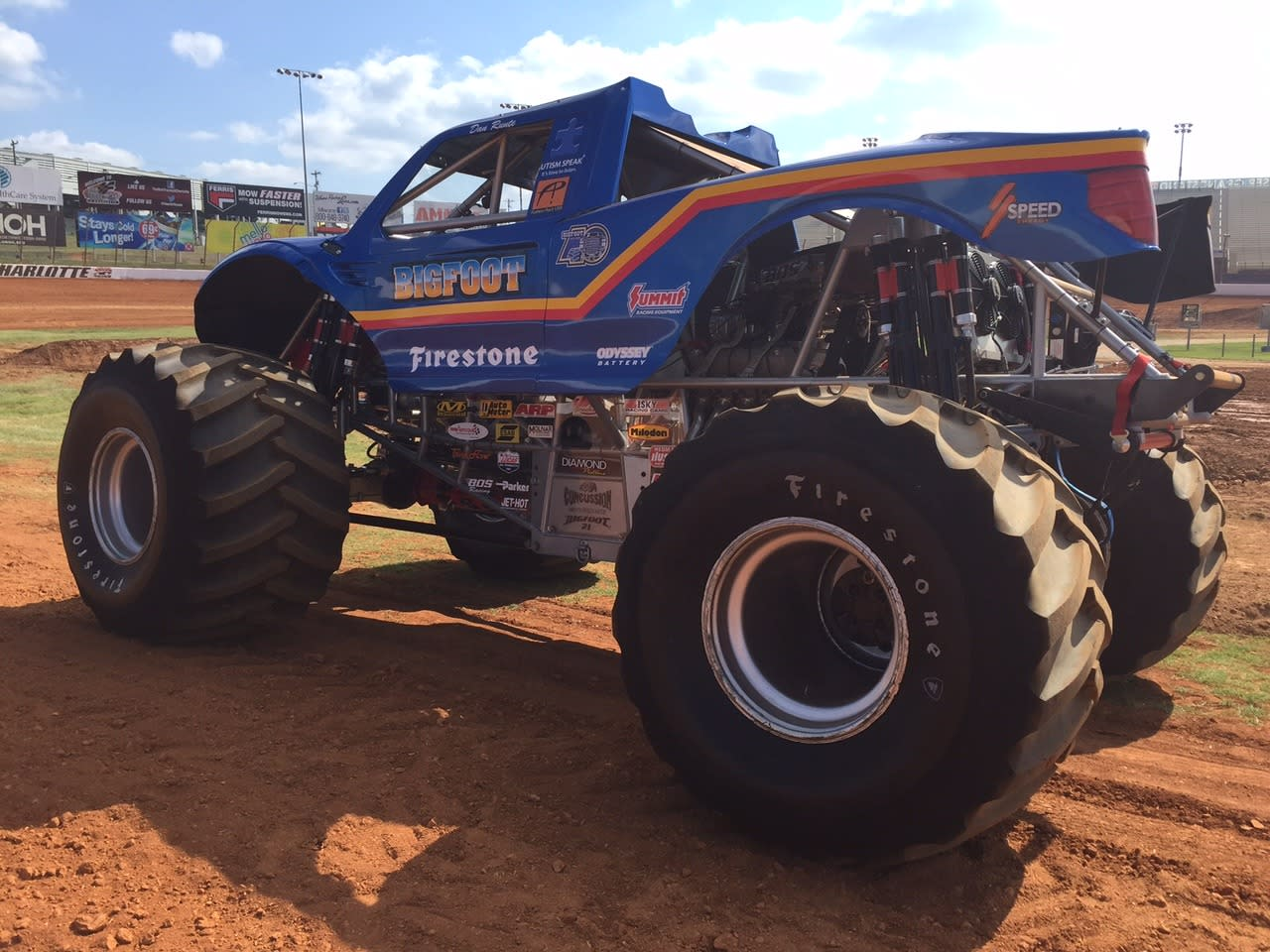 driving bigfoot at 40 years young still the monster truck king