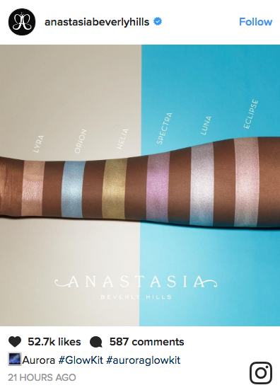 The New Anastasia Beverly Hills Aurora Glow Kit Is Everything You Want It to Be and More