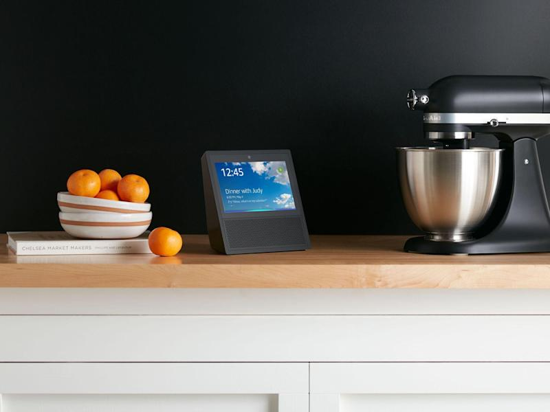 The Echo show, which has become the focuse of a bitter dispute: Amazon