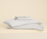 "<p>On the hunt for sheets that go easy on your skin <em>and</em> the planet? Look no further than the Buffy Eucalyptus Sheets. Commerce writer Erin Parker warns these clean, green sheets might convince you to ditch your staple cotton set, because the naturally dyed eucalyptus fibers ""give that cold-side-of-the-pillow feel, and they become incredibly soft after a few washes."" Pair them with the <a href=""https://fave.co/2TtUrvD"" rel=""nofollow noopener"" target=""_blank"" data-ylk=""slk:Cloud Comforter"" class=""link rapid-noclick-resp"">Cloud Comforter</a> for the most heavenly sleep of your life.</p> <p><strong>Details:</strong></p> <ul> <li>Includes one fitted sheet, one top sheet, and two standard pillowcases</li> <li>300 single-ply thread count</li> <li>100% eucalyptus fibers sourced from renewable trees</li> <li>OEKO-TEX 100 certified</li> </ul> <p><strong>Star rating:</strong> 4.8 out of 5 stars</p> <p><strong>What customers say:</strong> ""I have never owned nice sheets before and, wow, have I been missing out! These sheets are like sleeping on a cloud. I can never go back to scratchy cheap sheets again!"" —<em>Sally, reviewer on</em> <a href=""https://cna.st/affiliate-link/ggEqDMbDf4ZuEnnfDYeTGACEpjPmjYXGi9HjAQk8X1gnXascPey2gHSAJyxmxS9Uzt3dKM9JPwnC2gmTSiw26bXBwfQthLXV6BaCUWkVRC38BfToFYjgMs98ccDdjf7MZh5QN7m3QH7?cid=5e56d7fa83728f00088c2dbb"" rel=""nofollow noopener"" target=""_blank"" data-ylk=""slk:Buffy"" class=""link rapid-noclick-resp""><em>Buffy</em></a></p> $199, Buffy. <a href=""https://buffy.co/products/eucalyptus-sheets"" rel=""nofollow noopener"" target=""_blank"" data-ylk=""slk:Get it now!"" class=""link rapid-noclick-resp"">Get it now!</a>"