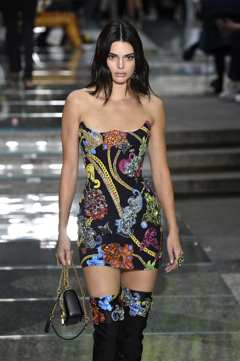 Kendall Jenner Walked Riccardo Tisci's First Burberry Show During London Fashion Week