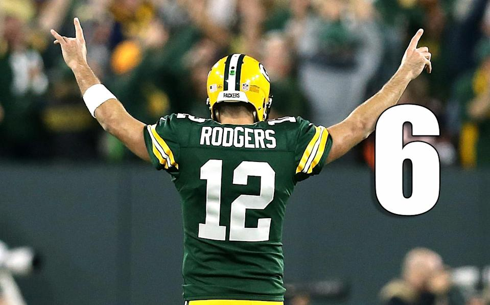 <p>Following Sunday night's injury to Aaron Rodgers, next week against the Vikings will be a nervous afternoon for Green Bay. (Aaron Rodgers) </p>