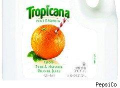 Tropicana is putting less orange juice in its containers after orange-juice concentrate prices have grown.