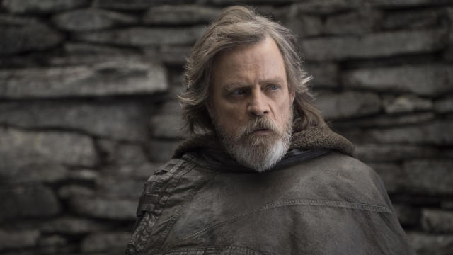 Mark Hamill as Luke Skywalker in 'Star Wars: The Last Jedi'. (Credit: Disney/Lucasfilm)