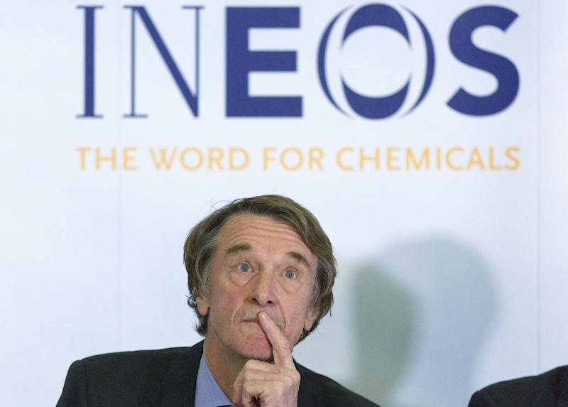 Jim Ratcliffe, chairman and chief executive of petrochemical firm Ineos. Photo: JUSTIN TALLIS/AFP/Getty Images