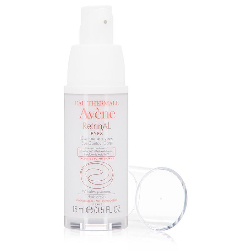 """<p><strong>Eau Thermale Avène</strong></p><p>dermstore.com</p><p><strong>$49.00</strong></p><p><a href=""""https://go.redirectingat.com?id=74968X1596630&url=https%3A%2F%2Fwww.dermstore.com%2Fproduct_Retrinal%2BEYES_43338.htm&sref=https%3A%2F%2Fwww.womenshealthmag.com%2Fbeauty%2Fg30852512%2Fbest-retinol-eye-cream%2F"""" rel=""""nofollow noopener"""" target=""""_blank"""" data-ylk=""""slk:Shop Now"""" class=""""link rapid-noclick-resp"""">Shop Now</a></p><p>""""I recommend this one for people with very sensitive and dry skin,"""" says Dr. Levin. """"It combines retinaldehyde—a stabilized version of retinol—with hyaluronic acid for collagen production and moisture, as well as dextran sulfate to help with de-puffing.""""</p>"""
