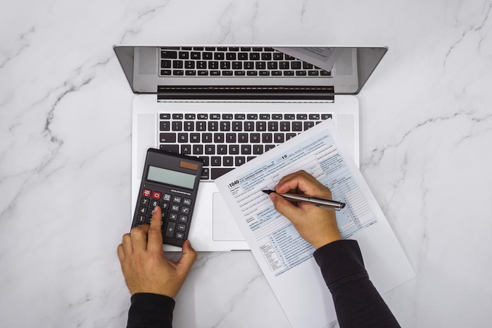 Tax preparation app provider EY TaxChat's survey of self-employed UK workers found that not only are a significant number leaving it to the last minute, but one in seven have missed the deadline before and incurred a fine. Photo: Getty Images