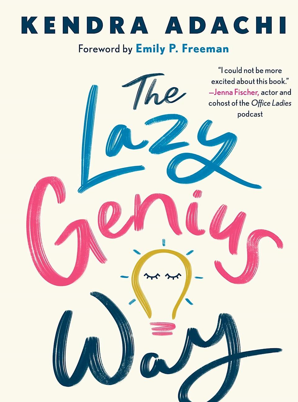<p>Kendra Adachi, the creator of The Lazy Genius podcast, has written a book that breathes life into the normalcy and significance of doing what matters to you, as opposed to giving into the social expectations of what it means to live well. In her book, <b><span>The Lazy Genius Way</span></b> invites readers to define their own significance towards what matters to them and lazy about what doesn't. Prioritizing principles that elevate your state of being while discovering new ways to approach relationships within your life is the echo of hope within Adachi's book.<br><br></p>