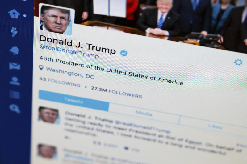 Twitter users blocked by Trump cry censorship