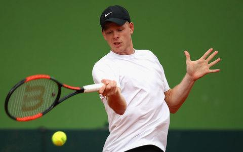 <span>Kyle Edmund returns to the tour at Indian Wells</span> <span>Credit: Getty Images </span>