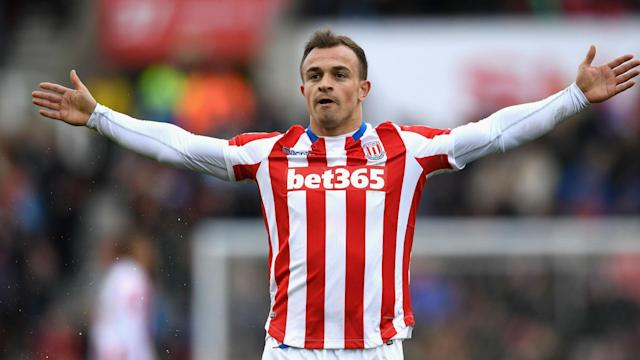 Xherdan Shaqiri scored a stunner in Stoke City's 3-1 win over Hull City, and Mark Hughes is hoping he can now stay injury free.