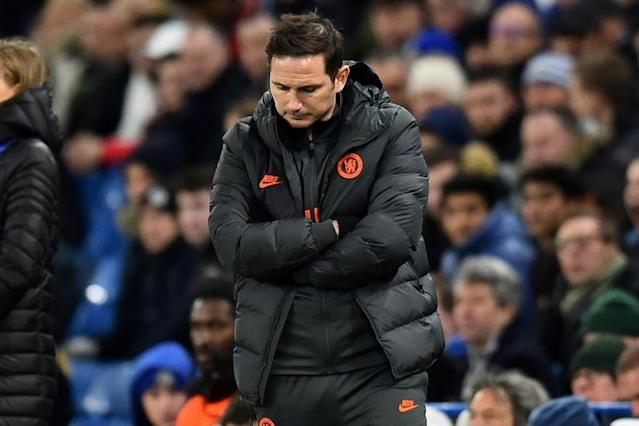 Chelsea manager Frank Lampard must lift his team after their 3-0 defeat against Bayern Munich (AFP Photo/Glyn KIRK )