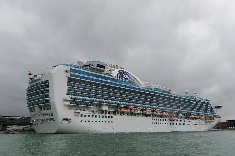 "This is the second time Princess Cruises' 3,0080-passenger ""Crown Princess"" has had an outbreak of Norovirus this year, after more than 150 passengers caught the virus during a cruise in April"