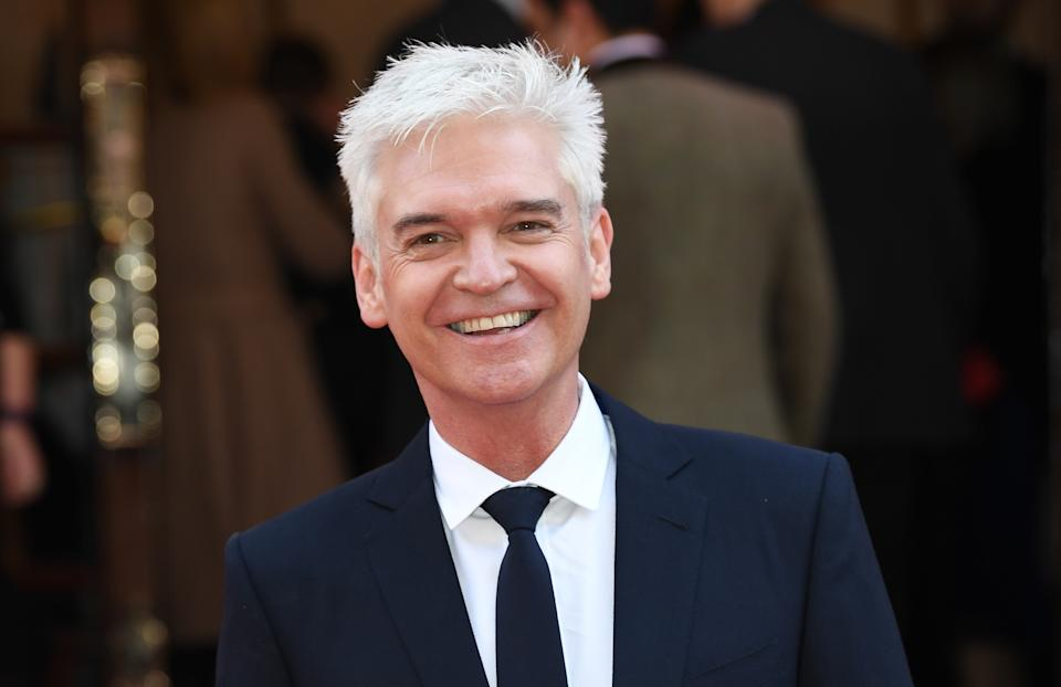 Phillip Schofield attending the Prince's Trust Celebrate Success Awards 2017, held at the London Palladium, London.  Picture date Wednesday March 15, 2017. Picture credit should read Doug Peters/ EMPICS Entertainment