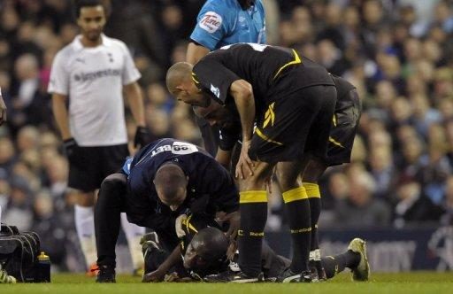 Patrice Muamba's heart stopped beating for 78 minutes after he collapsed at Bolton's FA Cup tie with Tottenham Hotspur