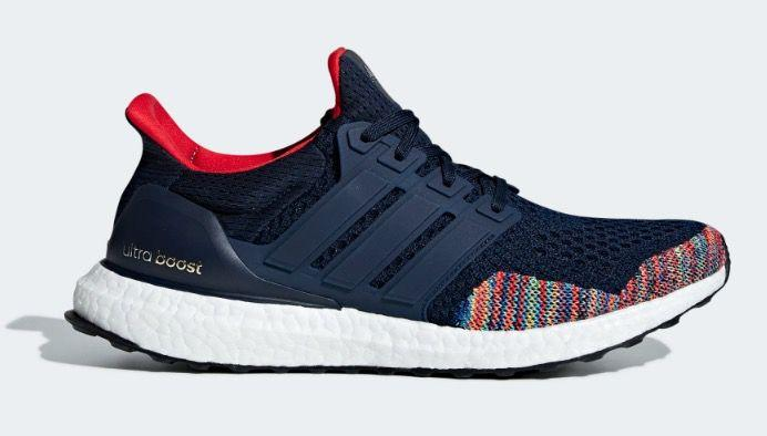 """<p><a rel=""""nofollow"""" href=""""https://www.adidas.co.uk/ultraboost-ltd-shoes/BB7801.html"""">SHOP</a></p><p>A colourful limited edition take on the classic Ultraboost design, featuring a Paul Smith-esque Primeknit front. Recommended for long urban runs, they'll keep you steady in wet and dry conditions.</p><p><a rel=""""nofollow"""" href=""""https://www.adidas.co.uk/ultraboost-ltd-shoes/BB7801.html"""">adidas, £159.95</a></p>"""