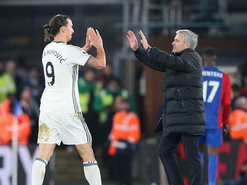 Jose Mourinho has vowed to support Zlatan Ibrahimovic whether he leaves Manchester United or not: Getty