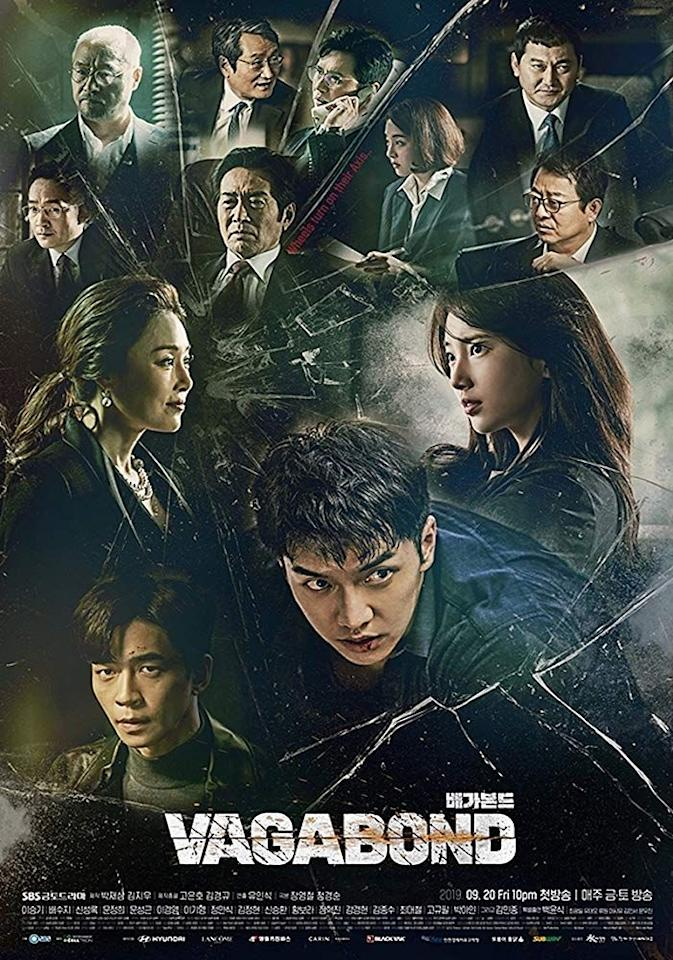 <p>Sorry in advance, but once you start this series, you'll be binging it all night long. That's how addicting this Korean drama is, starring leading actor Lee Seung-gi as a stuntman who finds himself engulfed in a dangerous web of corruption and terror as he tries to get to the bottom of what happened in the plane crash that killed his nephew. In this spy-meets-thriller-meets-romance series, <em>Vagabond</em> has something for everyone.</p>