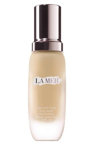 "<p>I was given a sample of this while shopping, and when I tried it out the next day, people kept saying my skin was glowing. Sold! This beauty editor spends her hard-earned cash on this gorgeous, lightweight foundation (<a rel=""nofollow"" href=""http://www.cremedelamer.com/product/5817/40984/skincolor/the-soft-fluid-long-wear-foundation-spf20/weightless-touch-for-luxurious-long-wear"">$110</a>) that makes my skin feel better than before, thanks to the Miracle Broth formulation. I can't rave enough about the product's luxurious scent, and it's SPF 20, so your skin will stay beautiful. — Tanya Edwards, Yahoo Beauty & Style editor-at-large </p>"