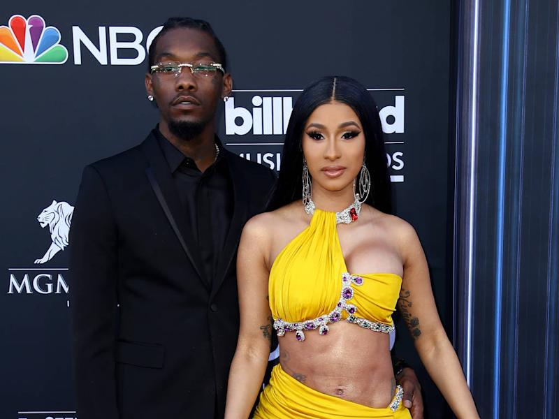 Offset Gets Cardi B Tattoo Is Inked Name An Effort To: Cardi B Gets Tattoo Tribute To Husband Offset