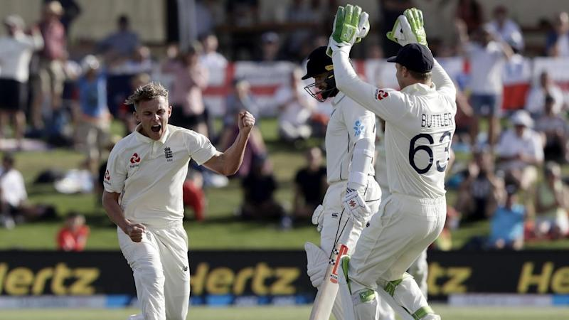 Sam Curran claimed the wicket of New Zealand skipper Kane Williamson as England rule the first Test