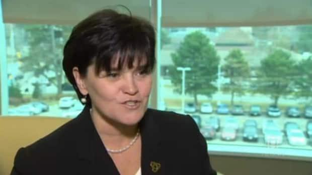 Ontario Premier Doug Ford has named Michelle DiEmanuele as secretary of the cabinet and clerk of the executive council. DiEmanuele, currently president and CEO of Trillium Health Partners, takes the job on June 20, 2021.   (CBC - image credit)