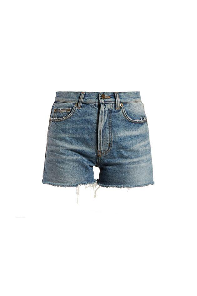 """<p>July 4 is the ideal time to break out a classic pair of denim cut-offs—and wear 'em all weekend long. </p><p><em>Raw-hem denim shorts, $244 </em></p><p><a class=""""body-btn-link"""" href=""""https://go.redirectingat.com?id=74968X1596630&url=https%3A%2F%2Fwww.matchesfashion.com%2Fproducts%2FSaint-Laurent-Raw-hem-denim-shorts-1251695&sref=http%3A%2F%2Fwww.crfashionbook.com%2Ffashion%2Fg28277973%2Fsouthampton-fourth-of-july-style-guide%2F"""" target=""""_blank"""">SHOP</a><em></em><br></p>"""