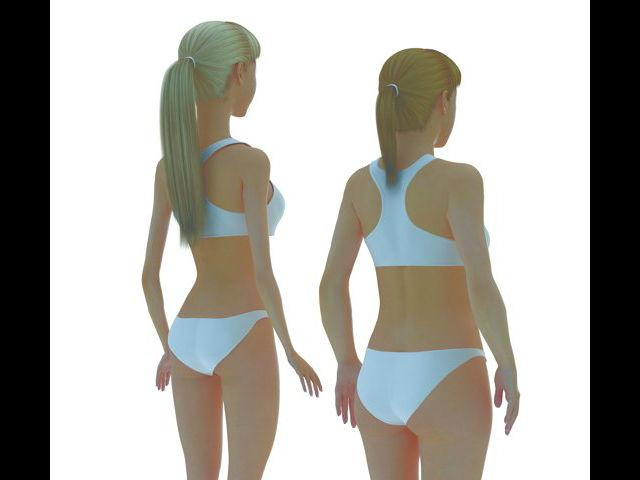 "Barbie at a one-sixth scale, Lamm says, would have the following measurements: 69"" in height, a 36"" bust, 18"" waist, 33"" hips, 22"" head circumference, and a 9"" neck circumference."