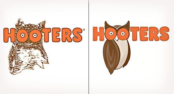 Hooters Logo overhaul