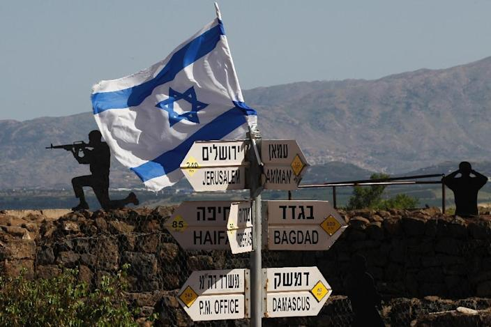 Israel seized 1,200 square kilometres (460 square miles) of the Golan during the Six-Day War of 1967, then annexed it in 1981 in a move never recognised internationally (AFP Photo/JALAA MAREY)