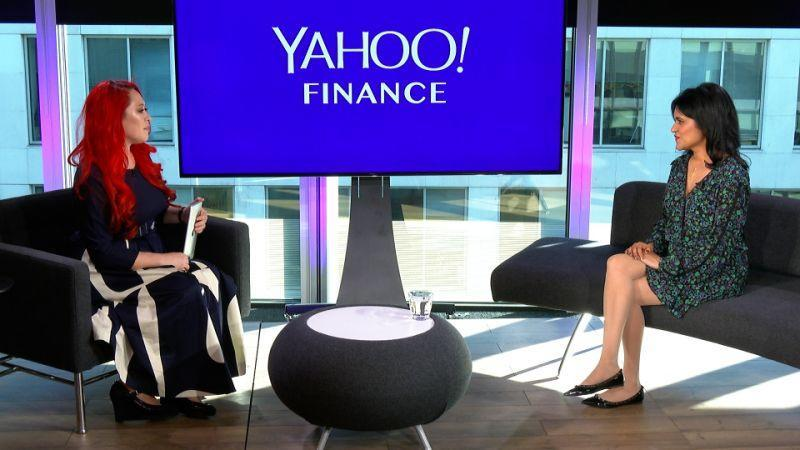 Dr Tara Swart (right) appeared on Yahoo Finance UK's Global Change Agents with Lianna Brinded. Photo: Yahoo Finance UK