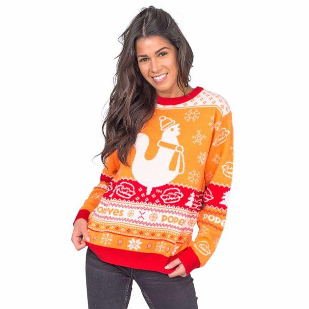 PHOTO: Popeyes has brought back its ugly Christmas sweaters in time for the holidays. (Popeyes)