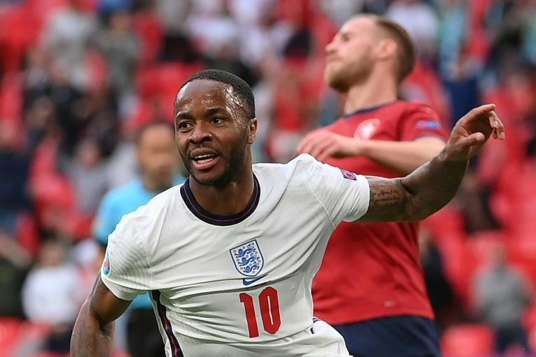 Raheem Sterling has scored England's only two goals at Euro 2020