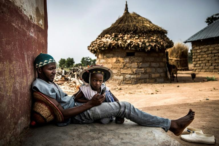 Internet reliability is a problem in Africa where less than a third of people are connected to broadband (AFP/Luis TATO)