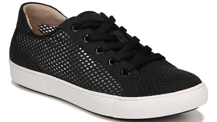 Mesh keeps these shoes light and airy.