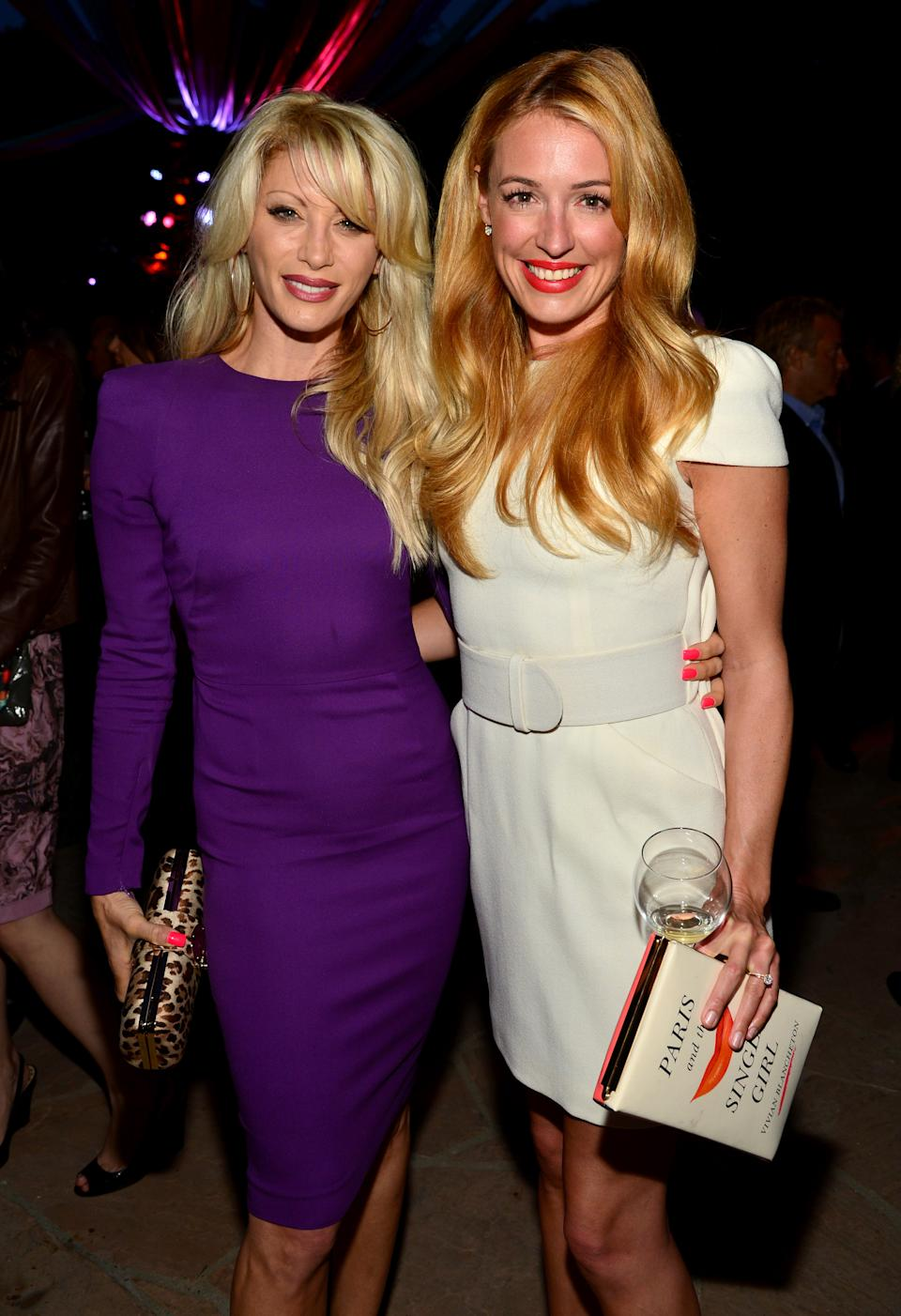 LOS ANGELES, CA - APRIL 22: TV personalities Dani Behr (L) and Cat Deeley attend the 8th Annual BritWeek Launch Party at a private residence on April 22, 2014 in Los Angeles, California. (Photo by Frazer Harrison/Getty Images)
