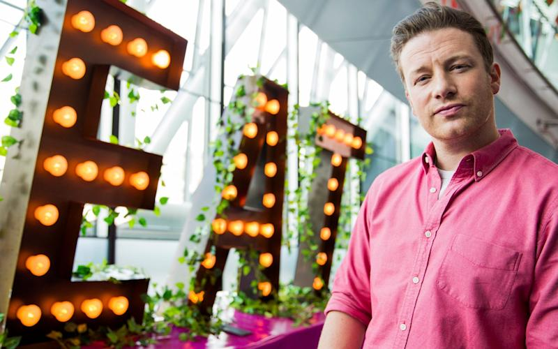 Celebrity chef Jamie Oliver is understood to be purchasing the St Paul's site of Barbecoa, whose parent company Barby is set to enter administration - Getty Images Europe