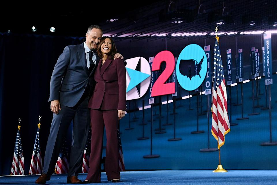"<p>When Harris was announced as Biden's running mate, she said in her first remarks, ""I can't wait for America to get to know Doug. My family means everything to me."" </p> <p>The pair would be making history with Harris becoming the first female vice president and Emhoff becoming the first second gentleman. </p>"