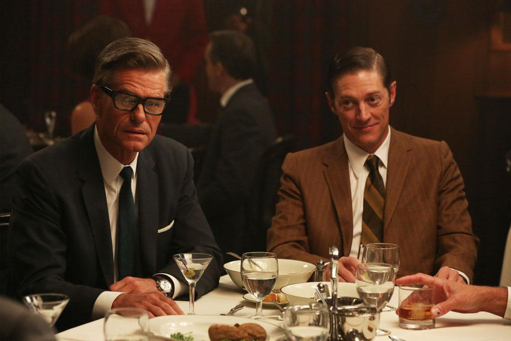 "Jim Cutler (Harry Hamlin) and Ted Chaough (Kevin Rahm) in the ""Mad Men"" episode, ""Favors."""
