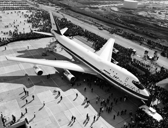 The very first Boeing 747 (AFP via Getty)