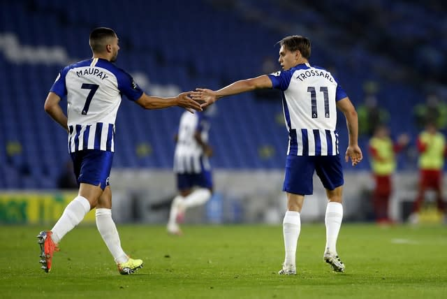 Brighton made a game of it after a poor start