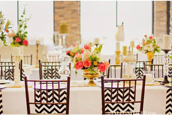 """<div class=""""caption-credit""""> Photo by: Amber DeHaas Photography</div>Placement across the width of the table is a new twist on the table runner. <br> <br> <a href=""""http://lover.ly/search?e=0&q=table+runners&utm_source=shine2-7-13chevron&utm_medium=guest&utm_campaign=shine2-7-13chevron"""" rel=""""nofollow noopener"""" target=""""_blank"""" data-ylk=""""slk:Table runners for every wedding"""" class=""""link rapid-noclick-resp"""">Table runners for every wedding</a> <br> <br> Photo by: <a href=""""http://r.lover.ly/redir.php/g72wXJzwTA._aHR0cDovL3d3dy5hbWJlcmRwaG90b2dyYXBoeS5jb20v"""" rel=""""nofollow noopener"""" target=""""_blank"""" data-ylk=""""slk:Amber DeHaas Photography"""" class=""""link rapid-noclick-resp"""">Amber DeHaas Photography</a> on <a href=""""http://r.lover.ly/redir.php/7aTVgODHn.g_aHR0cDovL3N0eWxldW52ZWlsZWQuY29tL3dlZGRpbmctYmxvZy9waW5rLWdvbGQtd2VkZGluZy10YWJsZXNjYXBlLWluc3BpcmF0aW9uLmh0bWw="""" rel=""""nofollow noopener"""" target=""""_blank"""" data-ylk=""""slk:Style Unveiled"""" class=""""link rapid-noclick-resp"""">Style Unveiled</a> via <a href=""""http://lover.ly/image/142196"""" rel=""""nofollow noopener"""" target=""""_blank"""" data-ylk=""""slk:Lover.ly"""" class=""""link rapid-noclick-resp"""">Lover.ly</a> <br> <br>"""