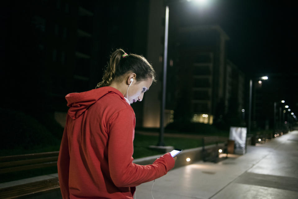 There are many personal safety apps people can use to help them feel more secure. (Getty Images)
