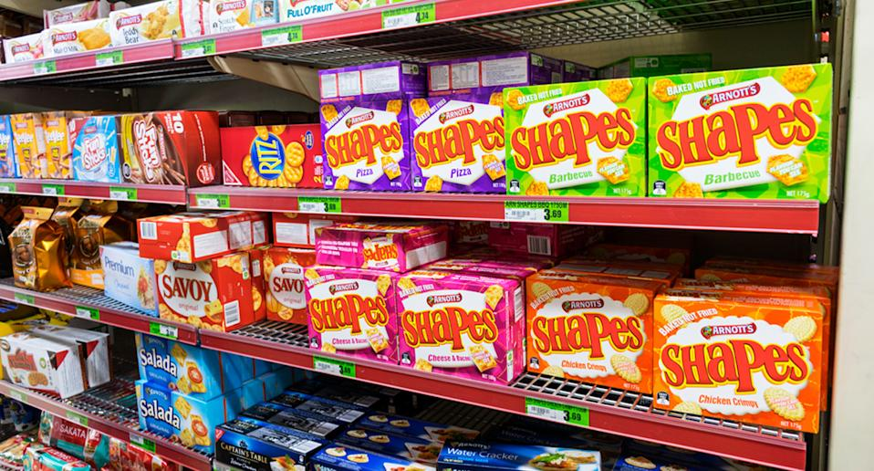Australians initially thought the Arnott's packaging was going to be changed. Source: Getty Images