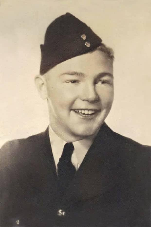 New Brunswick airman Ivan Raymond Trafford was just 20 years old when he died in a crash in November of 1941 in the south of Wales.  (Trafford family  - image credit)