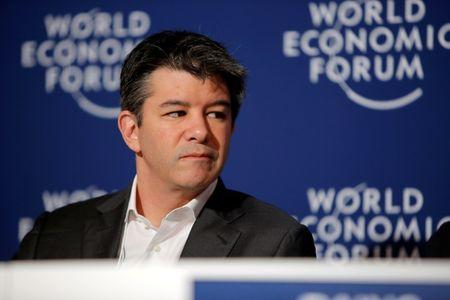 Uber says embattled CEO Kalanick stepping down