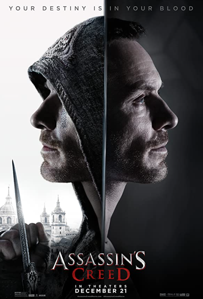 "<p>No problem with casting here. The issue is entirely with the script, which somehow makes one of the most film-worthy franchises utterly boring and unnecessarily confusing. Why on Earth they wouldn't adapt the Ezio narrative from <em>Assassin's Creed 2</em> is beyond us. At least there's some good fight scenes? Yeah, kind of. </p><p><a class=""link rapid-noclick-resp"" href=""https://www.amazon.com/Assassins-Creed-Michael-Fassbender/dp/B01MRZ8L12/ref=sr_1_1?dchild=1&keywords=Assassin%E2%80%99s+Creed&qid=1617721801&s=instant-video&sr=1-1&tag=syn-yahoo-20&ascsubtag=%5Bartid%7C2139.g.36026663%5Bsrc%7Cyahoo-us"" rel=""nofollow noopener"" target=""_blank"" data-ylk=""slk:STREAM IT HERE"">STREAM IT HERE</a></p>"